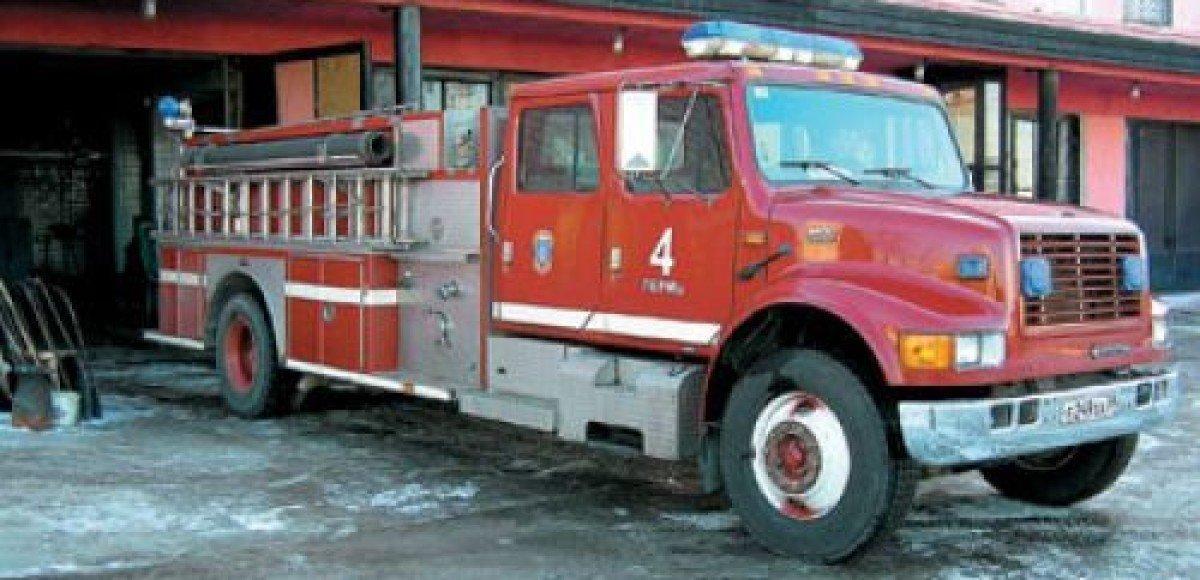 Американец попытался угнать пожарную машину, чтобы приехать на ней к своей маме