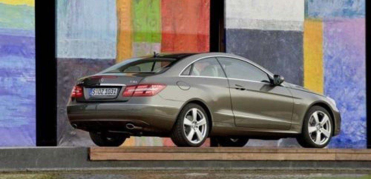 2009 Mercedes-Benz E-class Coupe. Нет слов
