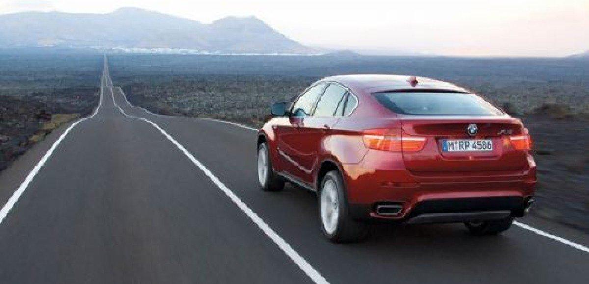 BMW объявляет российские цены на X6