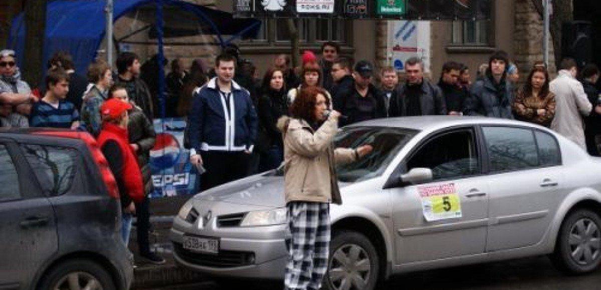 В Петербурге состолось ралли бара ХХХХ, «Радио Рокс» и  «Евросиб-Авто»