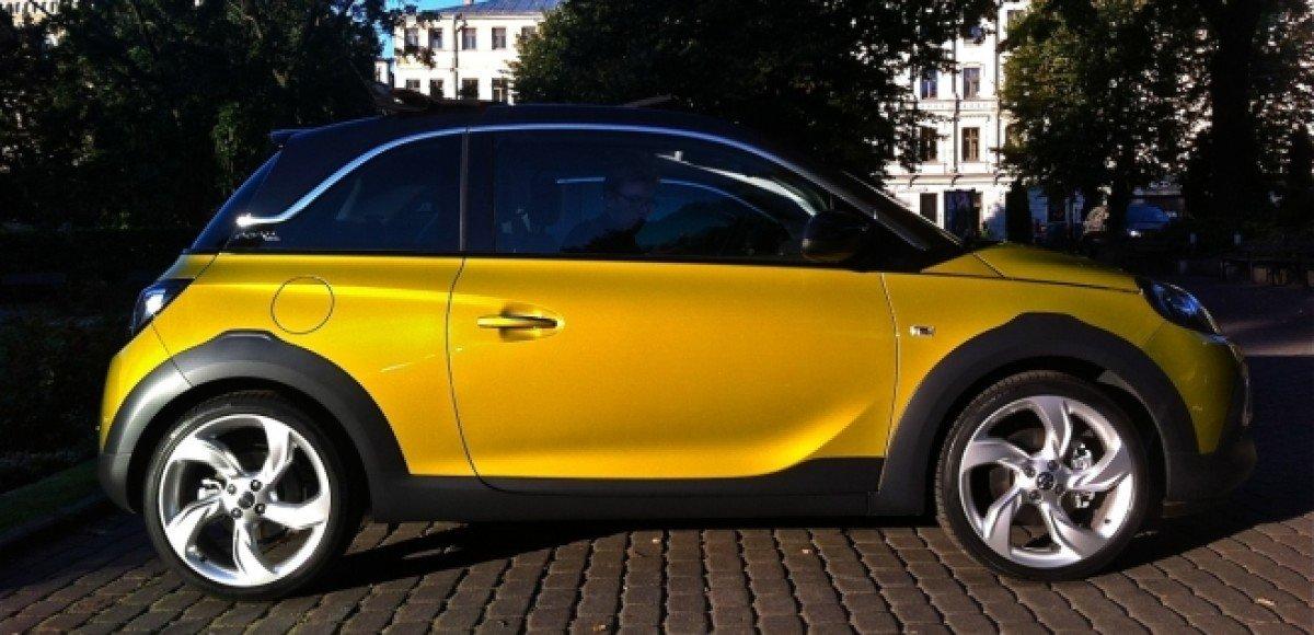 Opel Adam Rocks. Дорогое удовольствие
