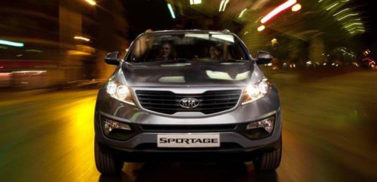 До России добрался новый KIA Sportage в комплектации Premium