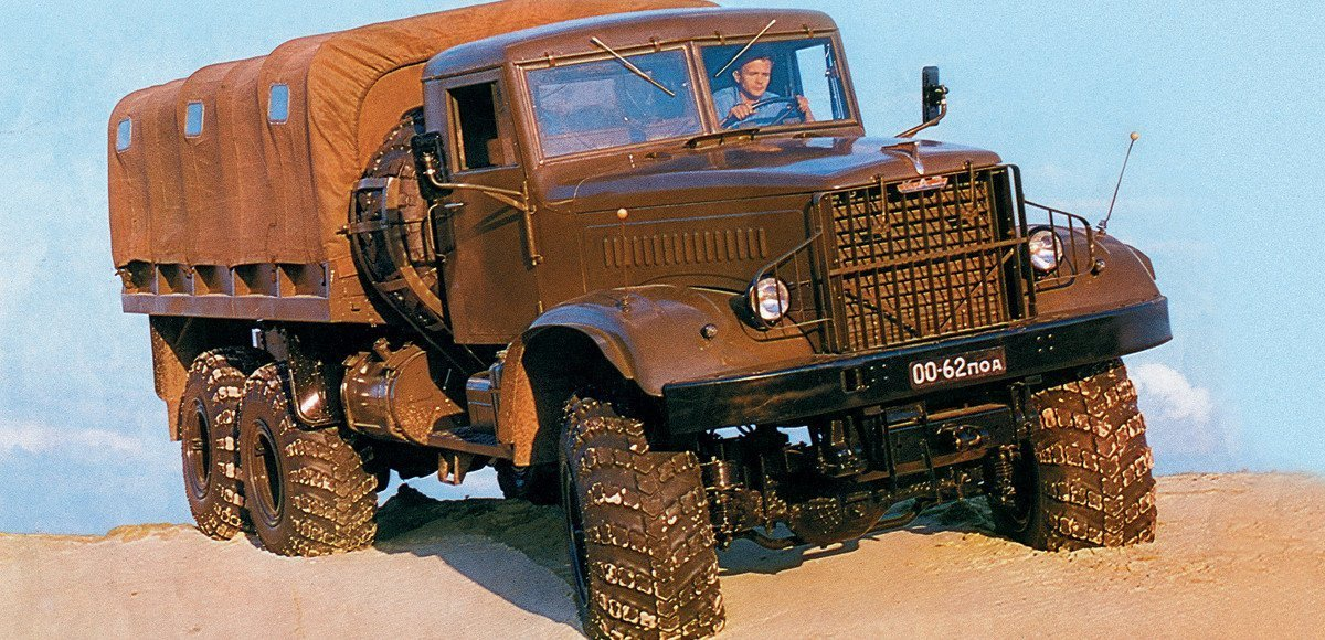 «Лаптежнику» — 50: история КрАЗ-255Б