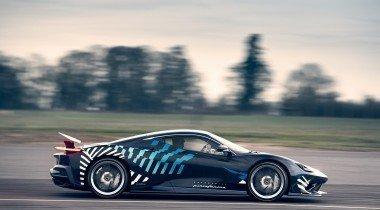 Электрический гиперкар Pininfarina Battista вышел на финальные испытания