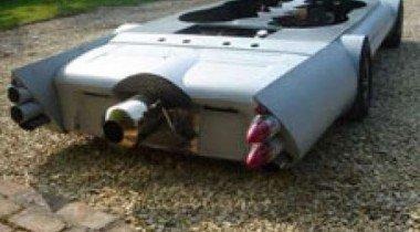 Flatmobile — автомобиль высотой менее полуметра