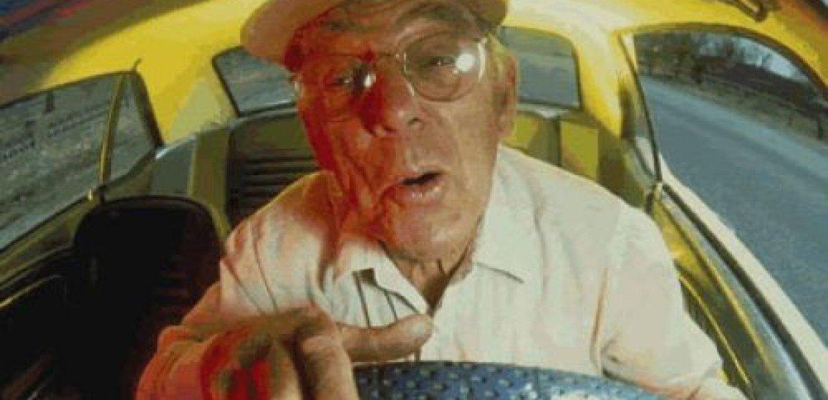 Сбив велосипедиста, водитель умер от ужаса
