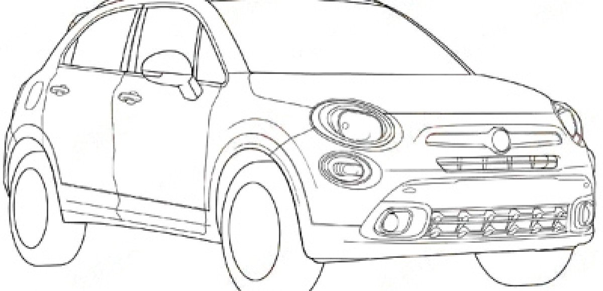 Внешность кроссовера Fiat 500Х рассекречена