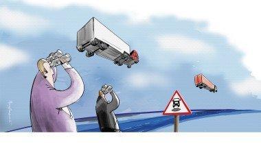 Фура с автопилотом: как могут лишиться работы водители грузовиков