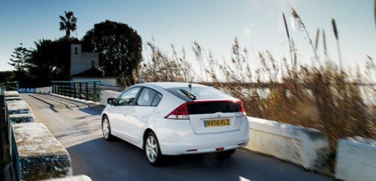 Honda Insight получила высший балл Euro NCAP