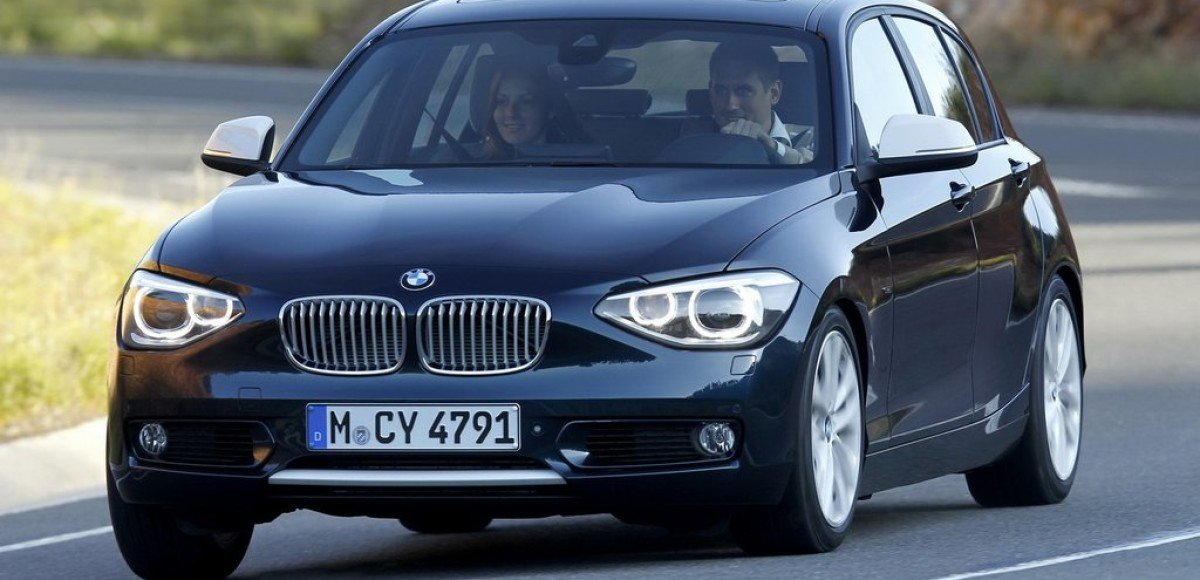 BMW 1-series: баварский C-класс
