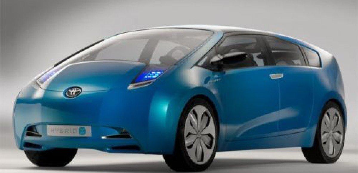 Состоялась европейская премьера Toyota Hybrid X
