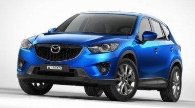 Mazda опубликовала первые фотографии кроссовера CX-5