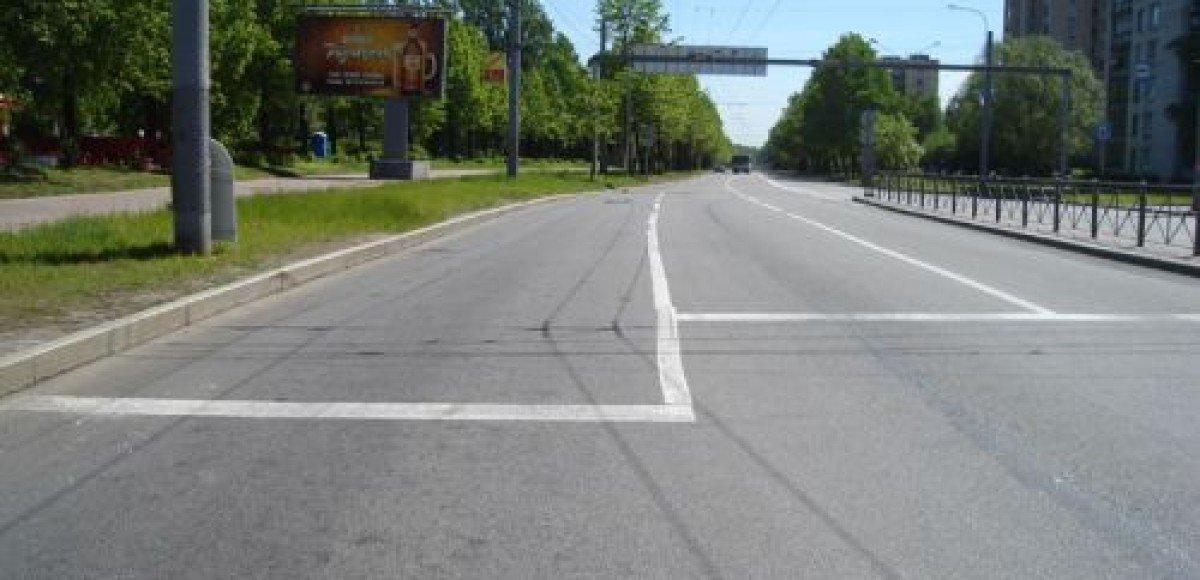 Витебский проспект в Петербурге закрывали из-за разлива солярки