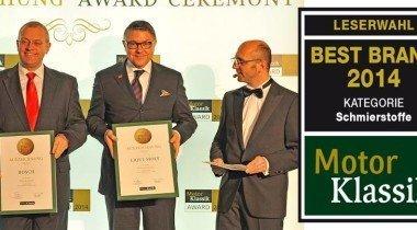 LIQUI MOLY вновь получает звание лучшего бренда