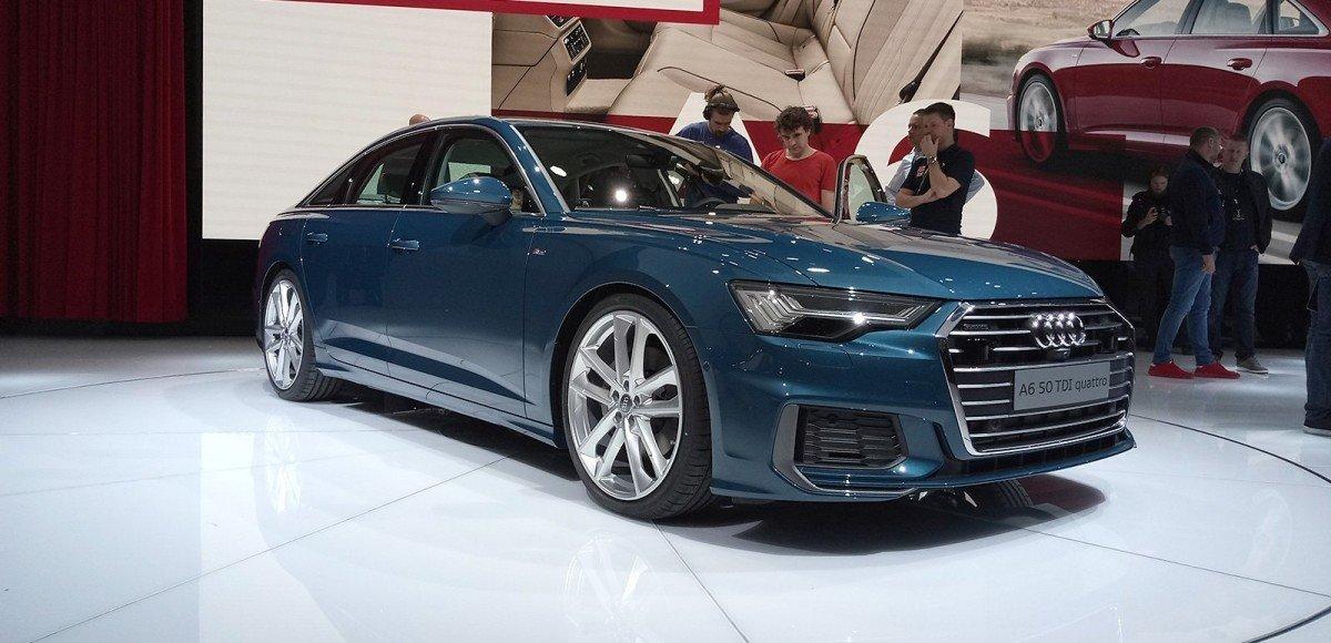 Audi A6: от большого к малому