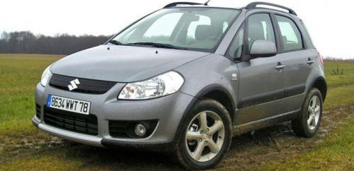 В «Автомире» стартовали продажи Suzuki SX4 2009 модельного года