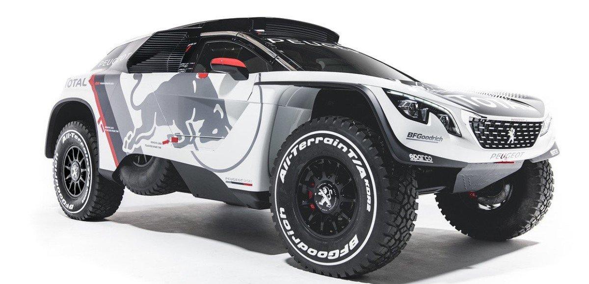 Peugeot 3008 DKR: супервнедорожник с передним приводом