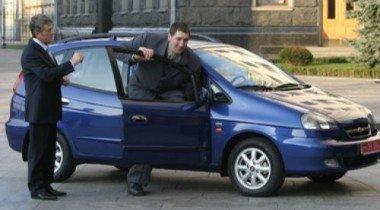 Автомобиль для украинского великана