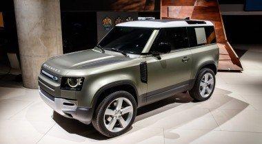 Новый Land Rover Defender: алюминиевый монокок и гибридный привод