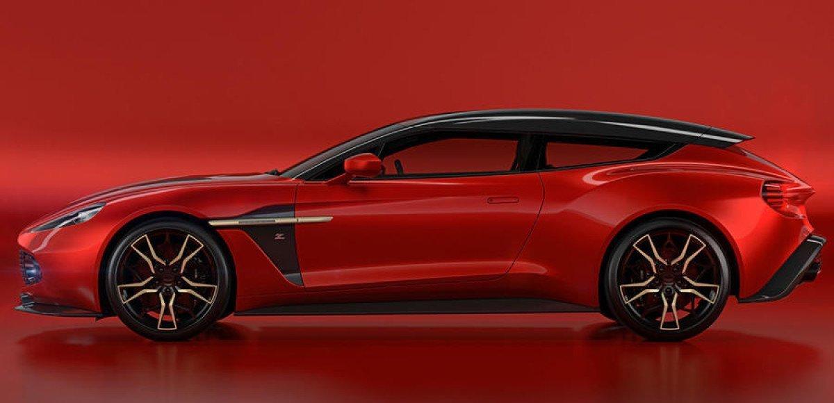 Zagato сделали 99 шутинг-брейков из Aston Martin Vanquish