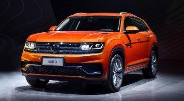Volkswagen Teramont X: здоровяк увлекся спортом