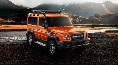 Представлен индийский «Гелендваген» за 1,3 млн рублей с «вечным» дизелем Mercedes