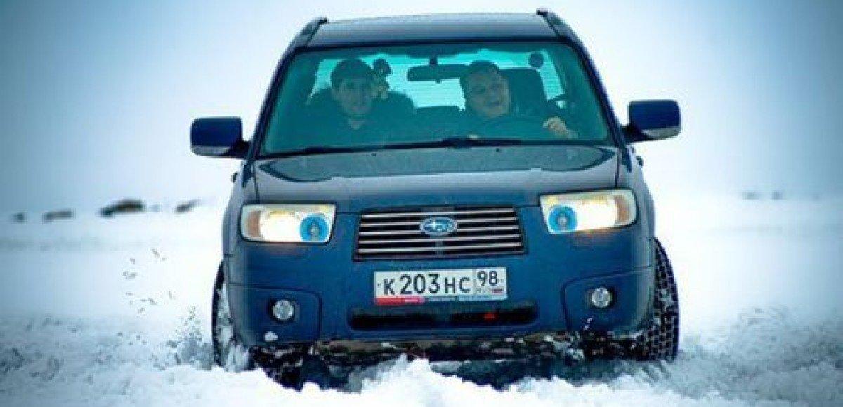 На Москву идет снежный фронт