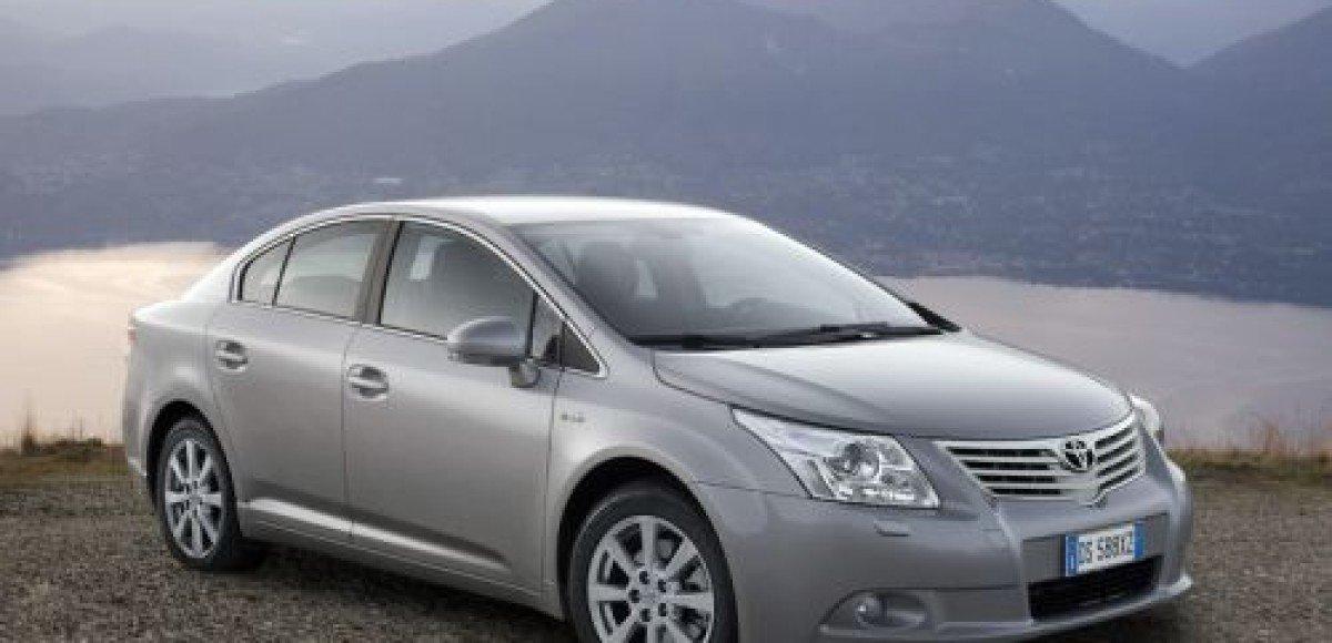 В России стартовали продажи Toyota Avensis с двигателем 1,6 л