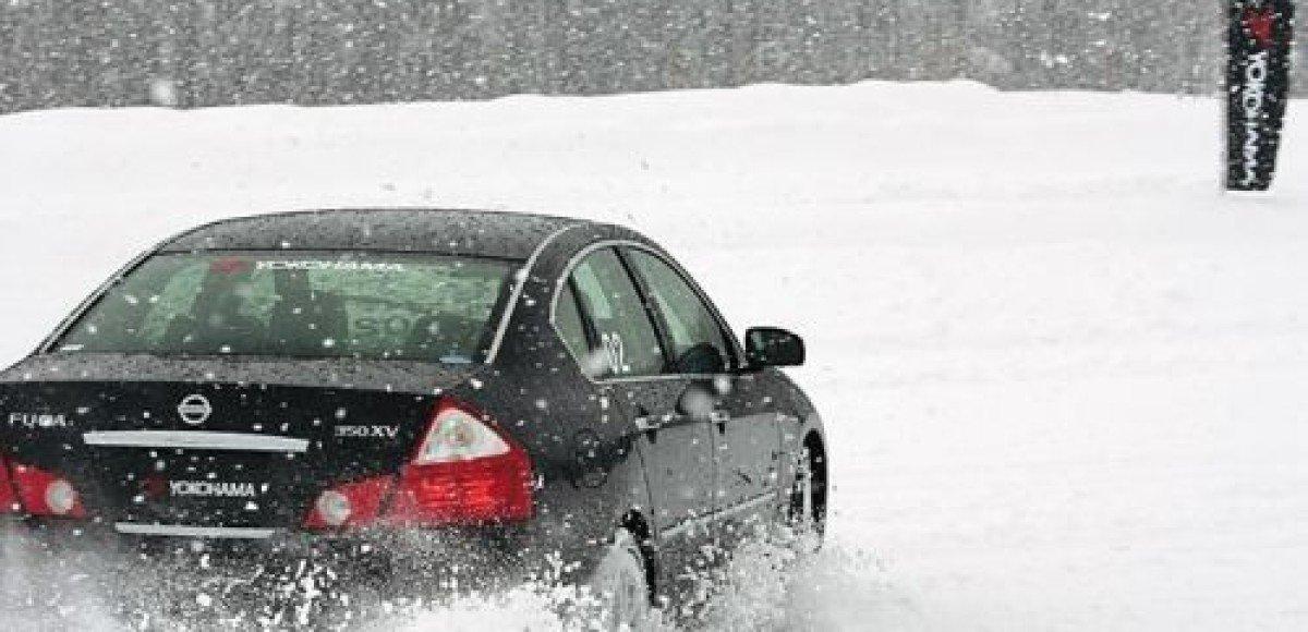 Московская ГИБДД советует ездить на нешипованных зимних шинах