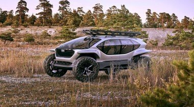 Audi AL:TRAIL quattro. Для внедорожного будущего