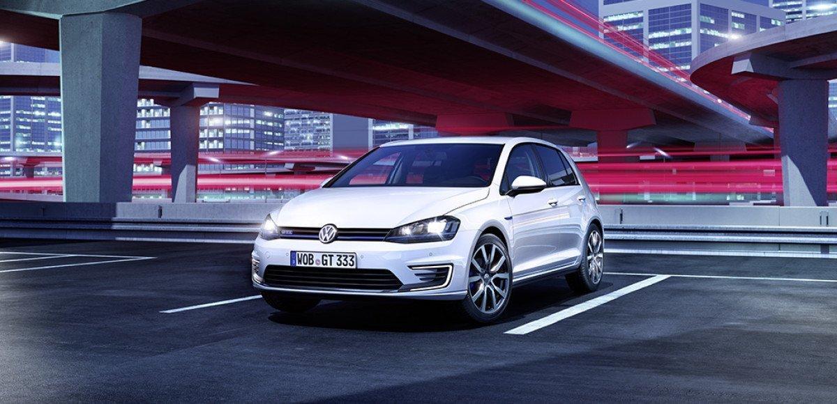 Volkswagen покажет Golf GTE с технологией «Plug-In-Hybrid»  в Женеве