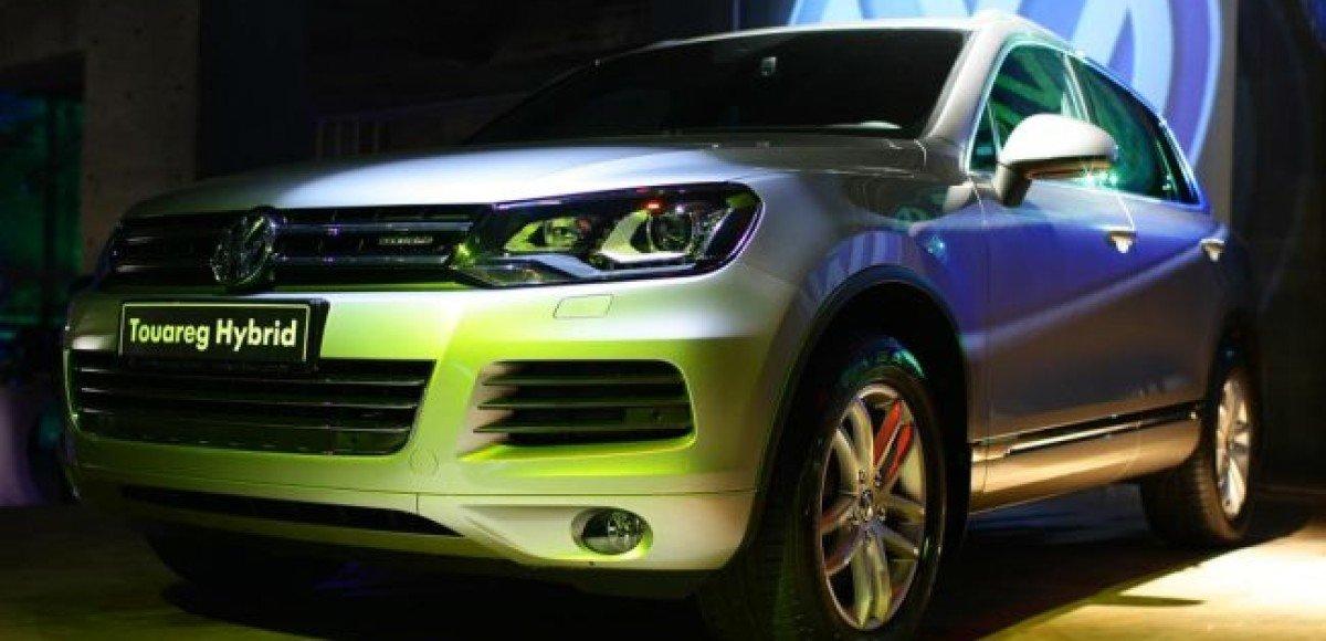 В Москве состоялась российская премьера Volkswagen Touareg Hybrid