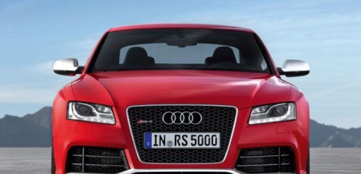 Женевский автосалон 2010. Audi RS5