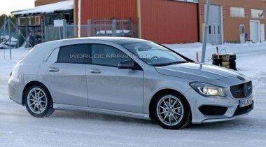 Mercedes выпустит универсал CLA в 2015 году
