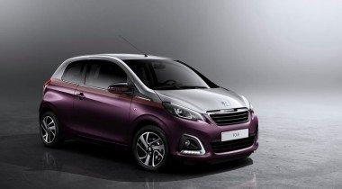 Peugeot представил компактный городской автомобиль с индексом 108