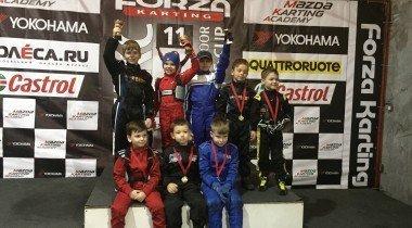 Mazda Academy Junior: гонка юниоров