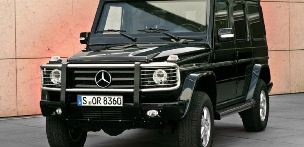 Во вторник в «Крокусе» Mercedes показали свои автомобили со спецзащитой
