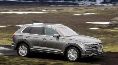 VW Touareg получит «горячую» версию