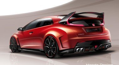Концепт Honda Civic Type R покажут в Женеве
