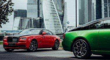 Огни ночной Москвы: Rolls-Royce представил эксклюзивную коллекцию