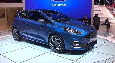 Ford в Женеве: новая Fiesta ST и юбилей самого успешного мотора всех времён