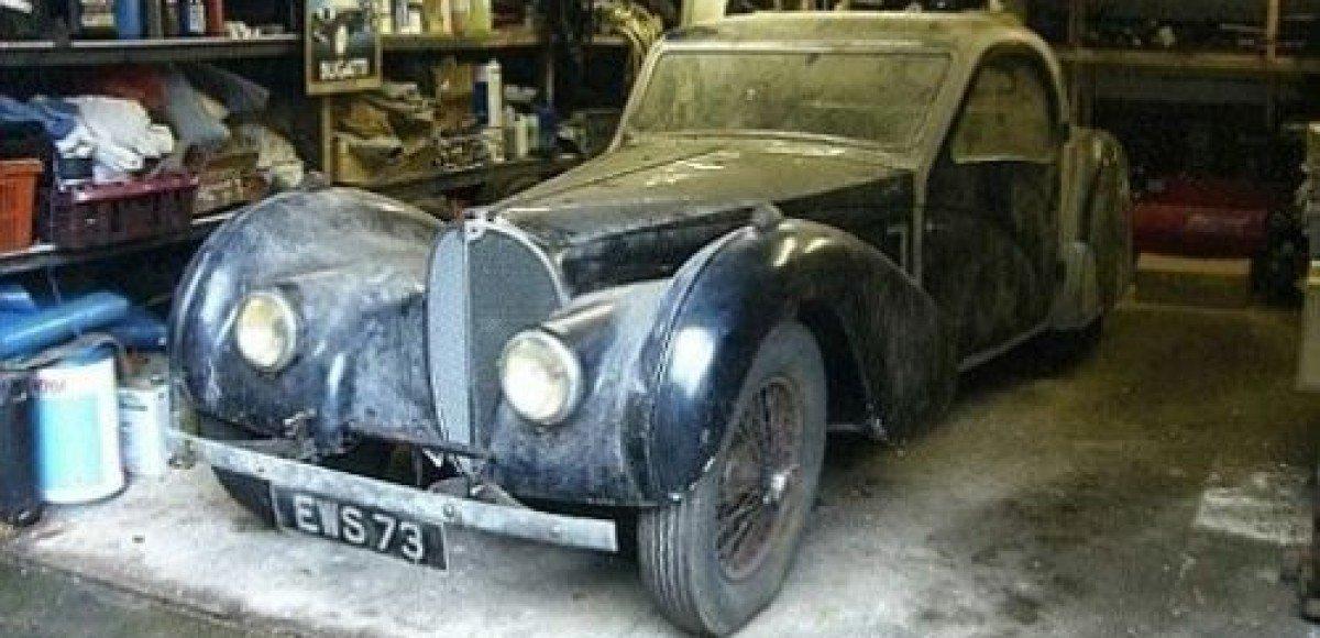 За Bugatti 1937 года выпуска заплатили 4,4 млн долларов
