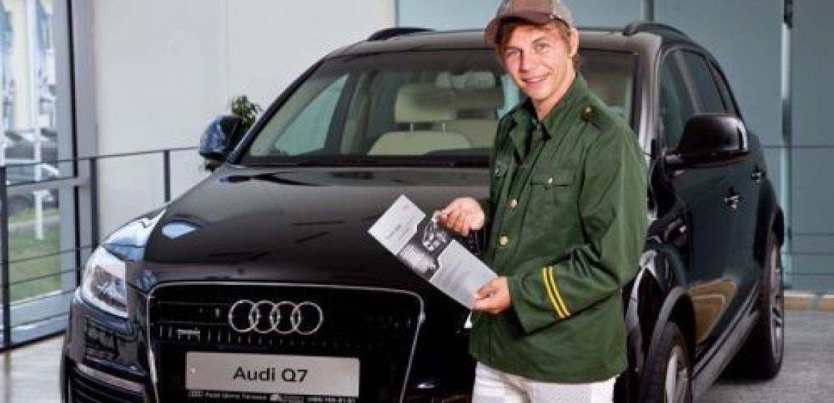 Илья Лагутенко купил эксклюзивный Audi в благотворительных целях