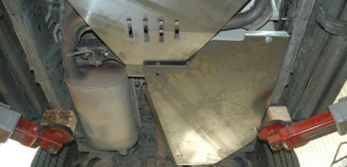 «Металлопродукция» предлагает полную защиту UAZ Patriot и Nissan Pathfinder