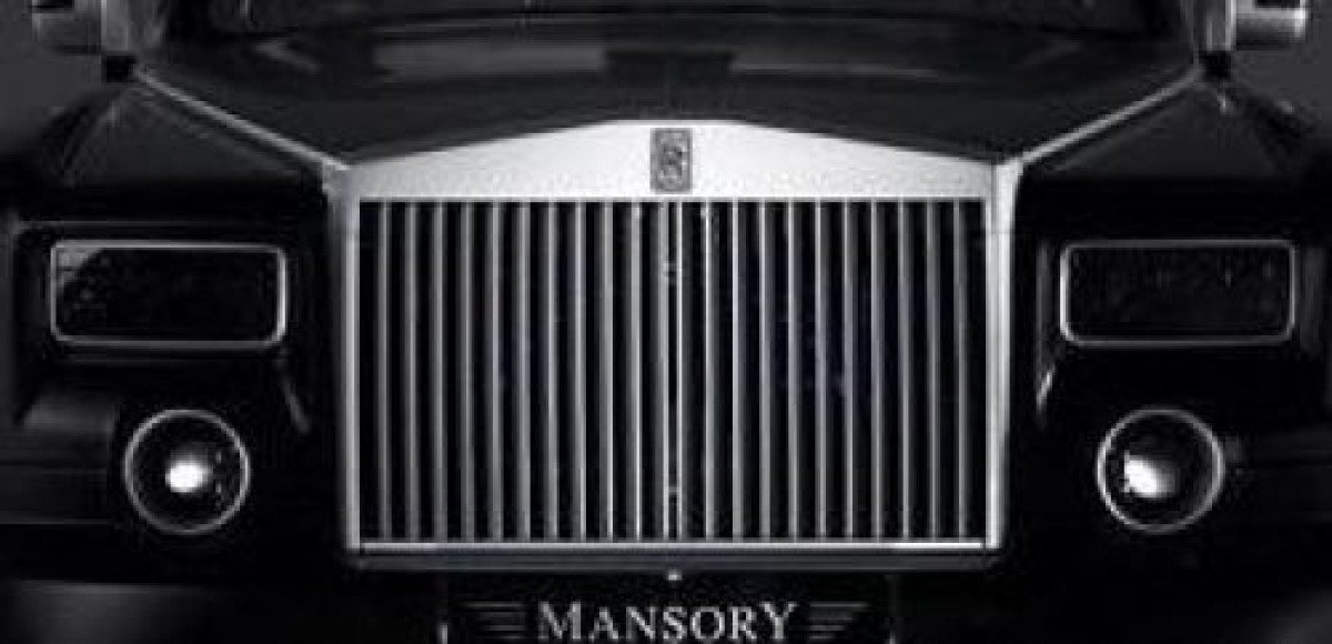 Rolls-Royce Phantom от ателье Mansory