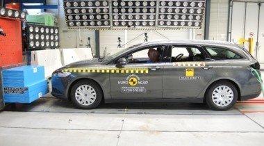 Новый Ford Mondeo разбили на крэш-тесте Euro NCAP