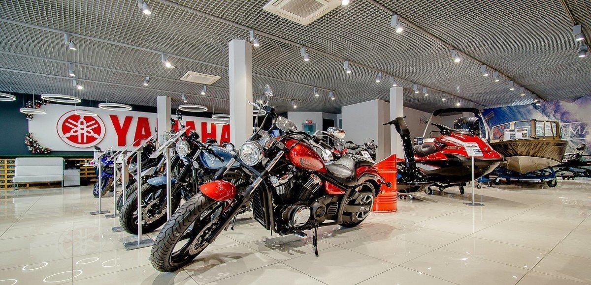 Кризису вопреки — новый салон Yamaha