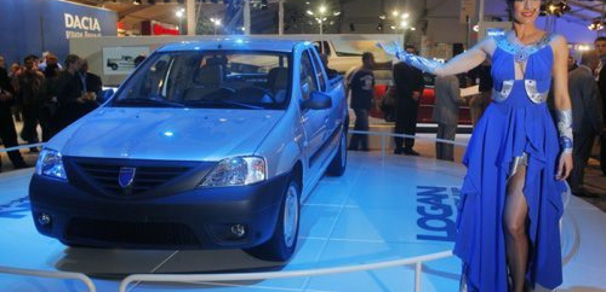 Компания Renault выпустила пикап Logan