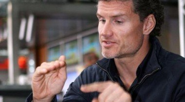 Дэвид Култхард даёт советы молодым пилотам на Гран-При Монако