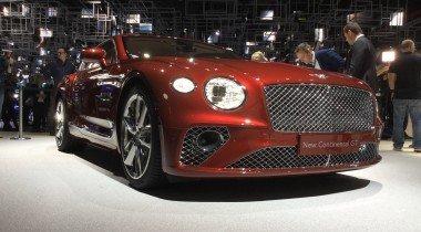 Новый Bentley Continental GT: старикам здесь не место